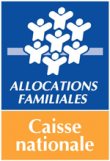 Logo Caisse nationale des allocations familiales (Cnaf)
